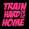 Train Hard Or Go Home Bodybuilding Fitness Motiv für die Ladies - Frauen Premium Hoodie