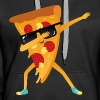 Dabbing Pizza With Sunglasses - Dab Dance Gift - Women's Premium Hoodie