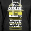 charleroi black country - Sweat-shirt à capuche Premium pour femmes