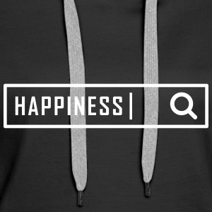 Search happiness - Women's Premium Hoodie