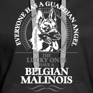 GUARDIAN ANGEL MALINOIS BELGE - Sweat-shirt à capuche Premium pour femmes