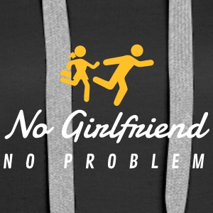 No Girlfriend. No Problem. - Women's Premium Hoodie