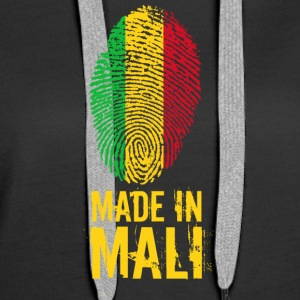 Made In Mali - Sweat-shirt à capuche Premium pour femmes