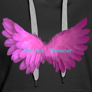 Feather Sweater - Vrouwen Premium hoodie