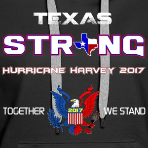 Texas Fort Harvey 2017 - Sweat-shirt à capuche Premium pour femmes