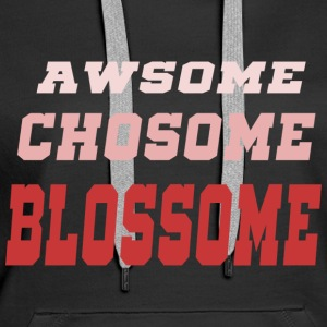 Awesome Chosom Blossome Pink - Vrouwen Premium hoodie