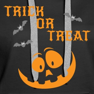 Trick Or Treat - Frauen Premium Hoodie