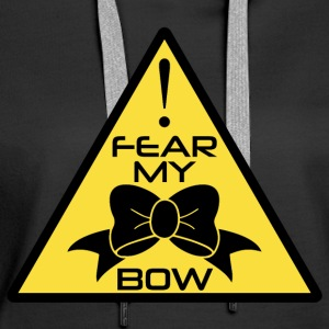 CheerleaderCollection Fear My Bow Multicolor - Women's Premium Hoodie