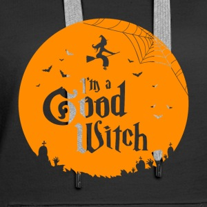 Halloween: I'm a Good Witch - Frauen Premium Hoodie