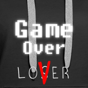Game over Liebhaber w - Frauen Premium Hoodie