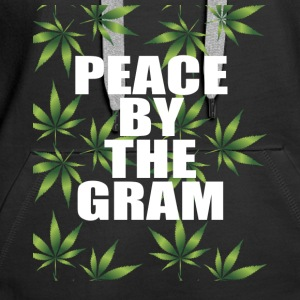 PEACE BY THE GRAM KIFFEN CANNABIS DANCE PEACE - Women's Premium Hoodie