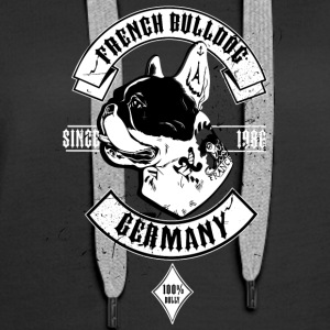 French Bulldog Germany - Frauen Premium Hoodie