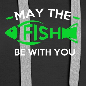 May the fish be with you - Women's Premium Hoodie