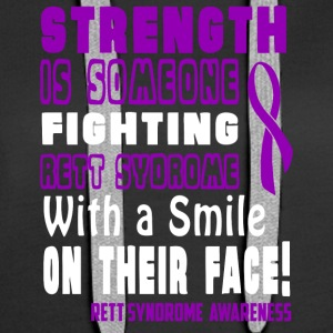 Rett Syndrome Awareness! Fighting with a Smile! - Women's Premium Hoodie