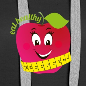 eat healthy - Women's Premium Hoodie