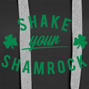 Ireland / St. Patricks Day: Shake Your Shamrock - Premium hettegenser for kvinner