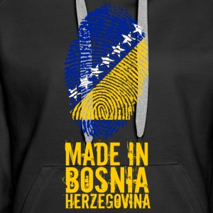 Made in Bosnia and Herzegovina Bosnien Herzegowina - Frauen Premium Hoodie
