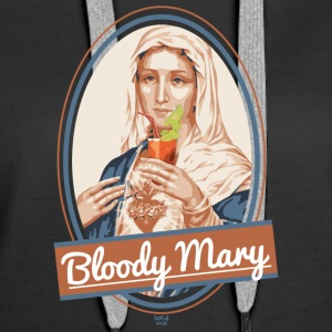Bloody Mary and drink - Women's Premium Hoodie