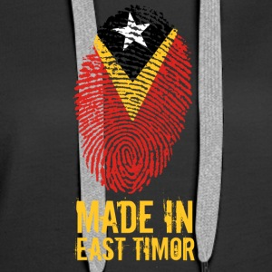 Made In East Timor / East Timor - Women's Premium Hoodie