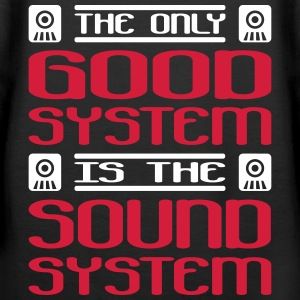 the only good system is the soundsystem - Frauen Premium Hoodie