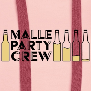 Malle Party Creqw - Women's Premium Hoodie