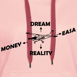 How to Fly My Airplane Gift Pilot - Women's Premium Hoodie