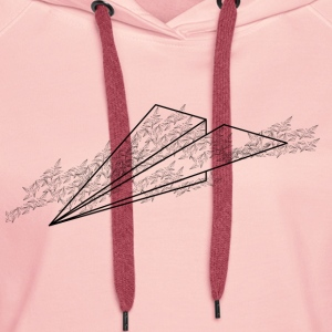 Airplane cloud - Women's Premium Hoodie
