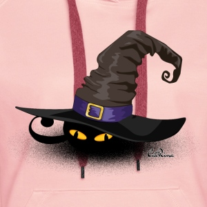 Cat in a Hat - Frauen Premium Hoodie