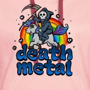 Death Metal T-Shirt - Women's Premium Hoodie