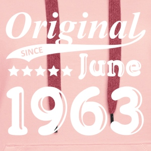 Original Since June 1963 gift - Women's Premium Hoodie