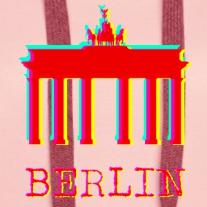 Berlin - Brandenburg Gate - Women's Premium Hoodie