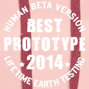 2014 - The birth year of legendary prototypes - Women's Premium Hoodie