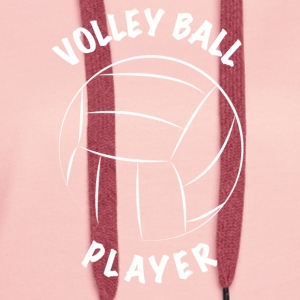 Volleyball player - Women's Premium Hoodie
