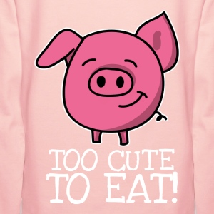 """Too cute to eat - Pig"""