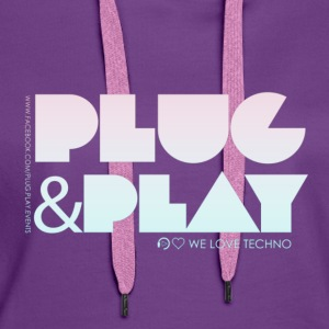 Collection PLUG & PLAY - Women's Premium Hoodie