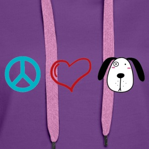 Hunde Liebe, Peace Love and Dogs