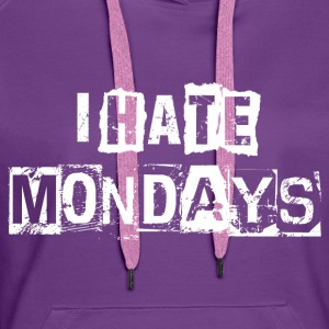 hatemondays - Premium hettegenser for kvinner