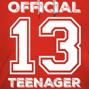 Official teenager 13th birthday gift - Women's Premium Hoodie