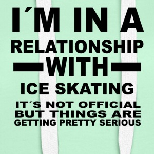Relationship with ICE SKATING - Women's Premium Hoodie
