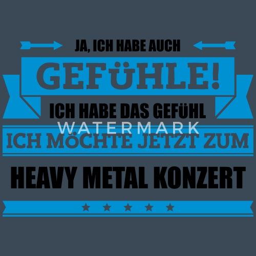 Lustiger Heavy Metal Spruch Frauen Premium Hoodie Spreadshirt