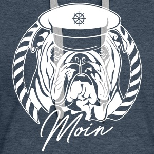 ENGLISH BULLDOG MOIN - Women's Premium Hoodie