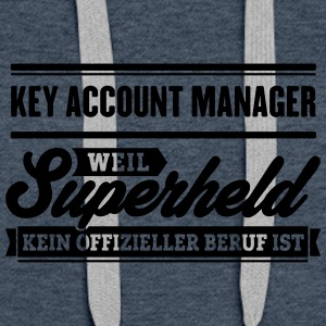Superheld Key Account Manager - Frauen Premium Hoodie
