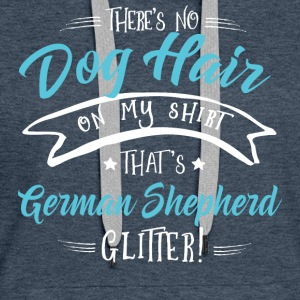 There is no Dog Hair this German Shepherd Glitter