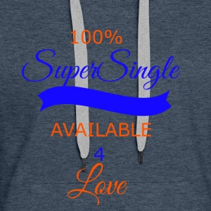 super single transparent - Women's Premium Hoodie