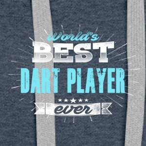 Worlds greatest dart player - Women's Premium Hoodie