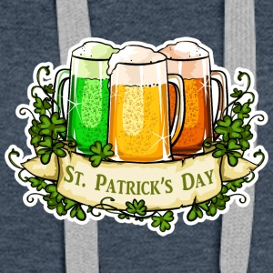 St. Patricks Day - Premium hettegenser for kvinner