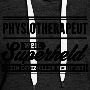 Superheld Physiotherapeut