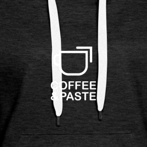 Coffee and Paste Logo - Frauen Premium Hoodie