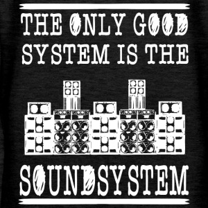 The only good system is the soundsystem - Women's Premium Hoodie