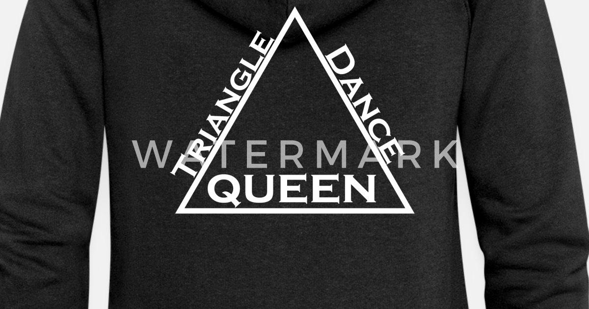 Triangle Premium Dance Frauen Dreieck Queen KapuzenjackeSpreadshirt Tanz Königin kZuPXi